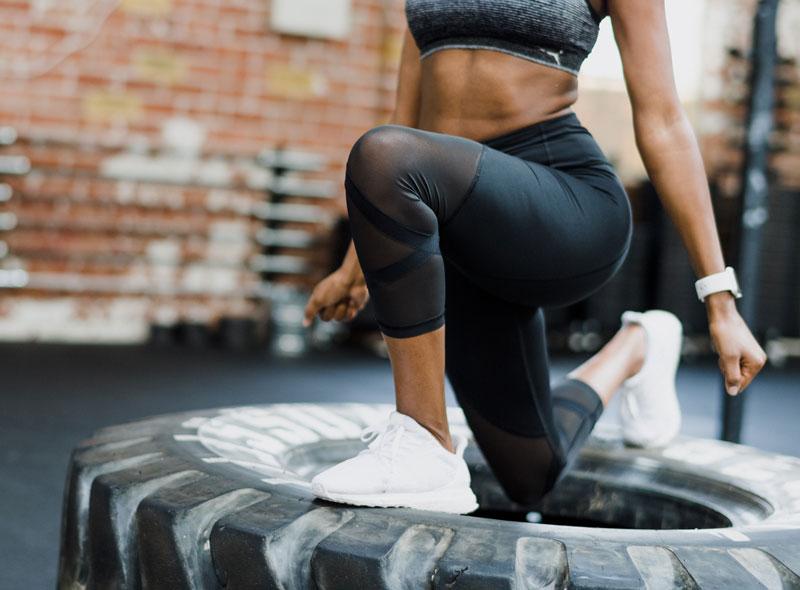 Workout im Gym